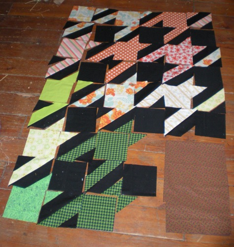 Houndstooth Piecing
