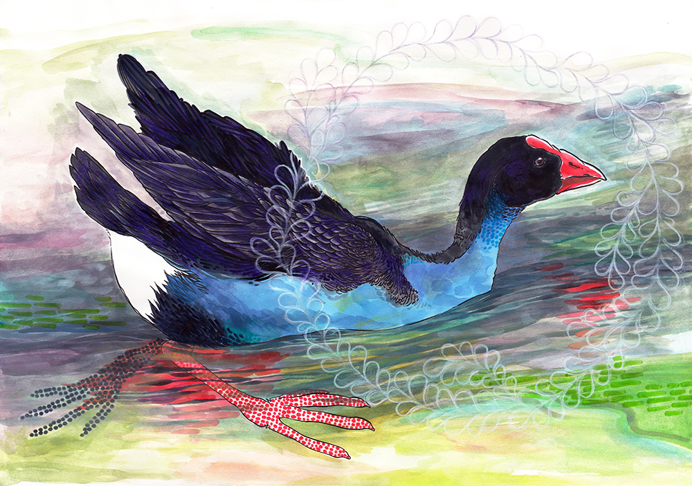 Technicolor Dream Hen