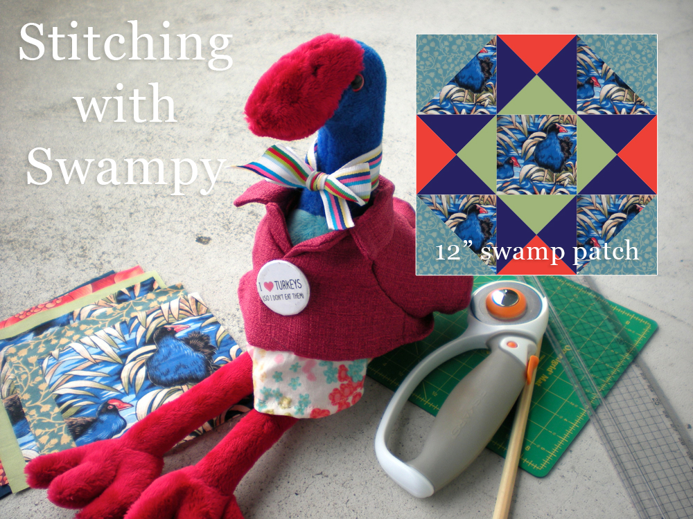 Stitching with Swampy: Swamp Patch