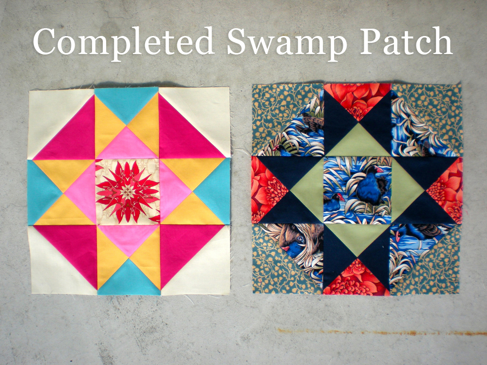 Completed Swamp Patch