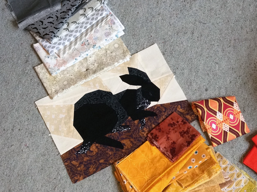 Nest WIP fabric pull