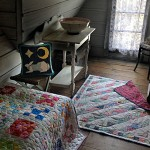 Quilts by Marian Kleist and Louise Sanders; Cushion by Robyn Rognstad