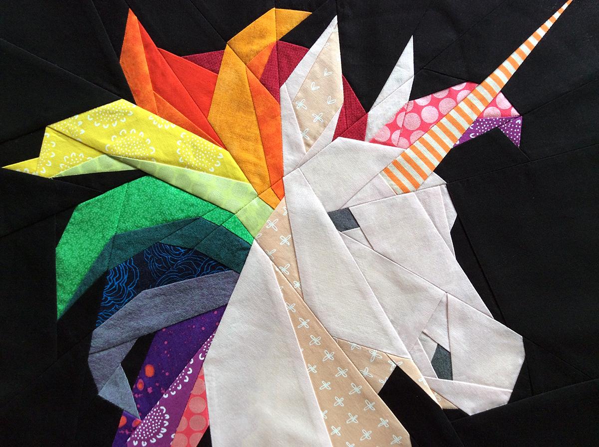 Rainbow Unicorn Pattern
