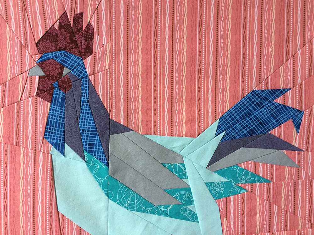 Blue Rooster detail