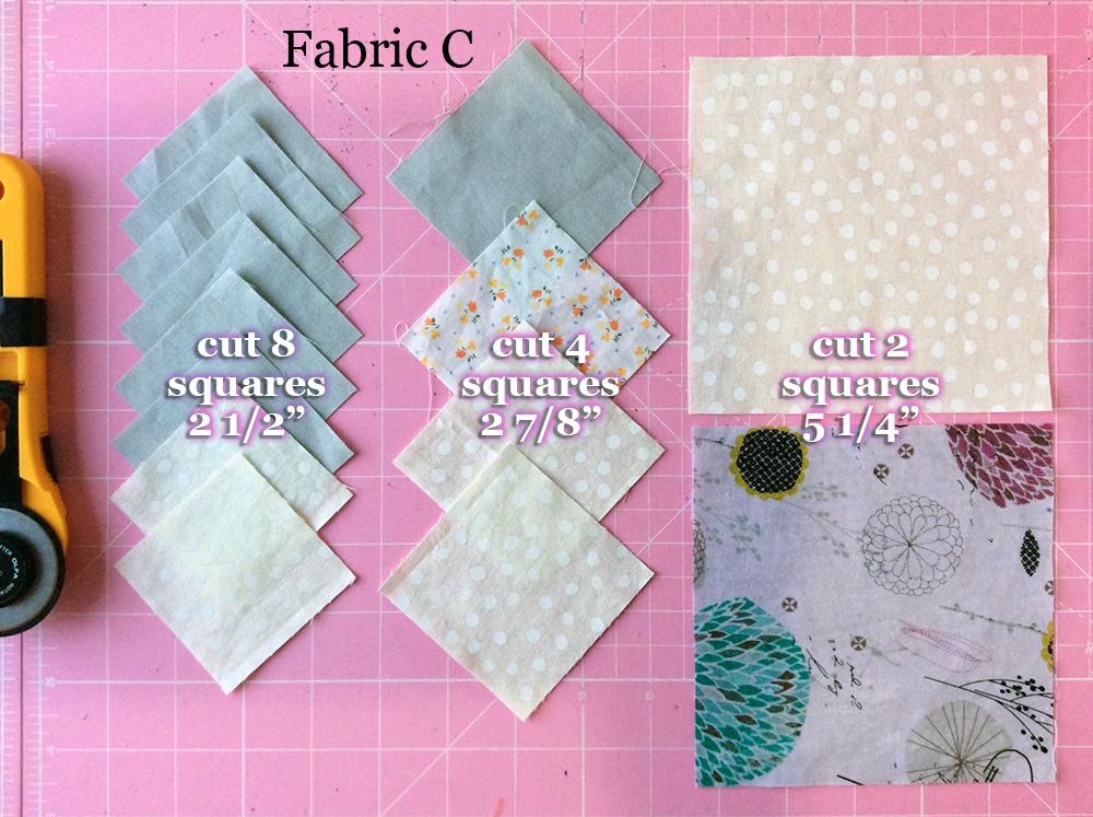 Fabric C cutting