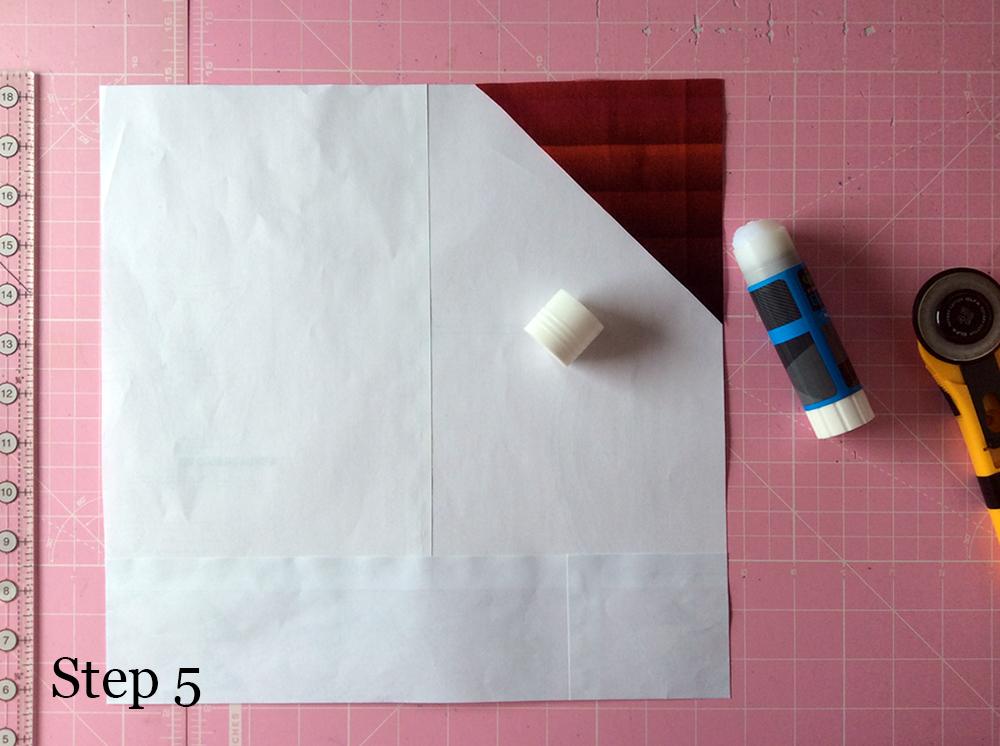 Improv Stripe Block Step 5