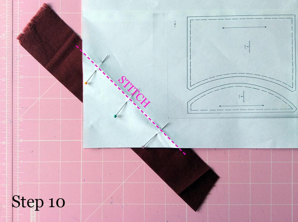 Improv Stripe Block Step 10