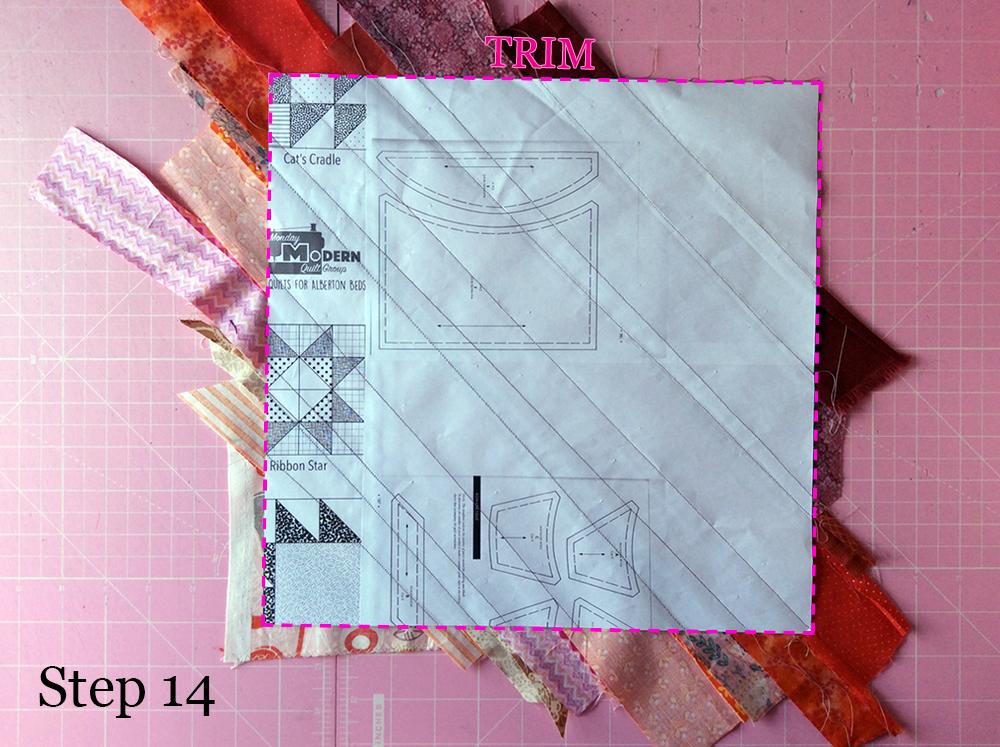 Improv Stripe Step 14