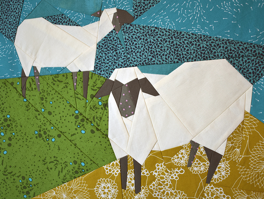 Sheep Friends (detail)